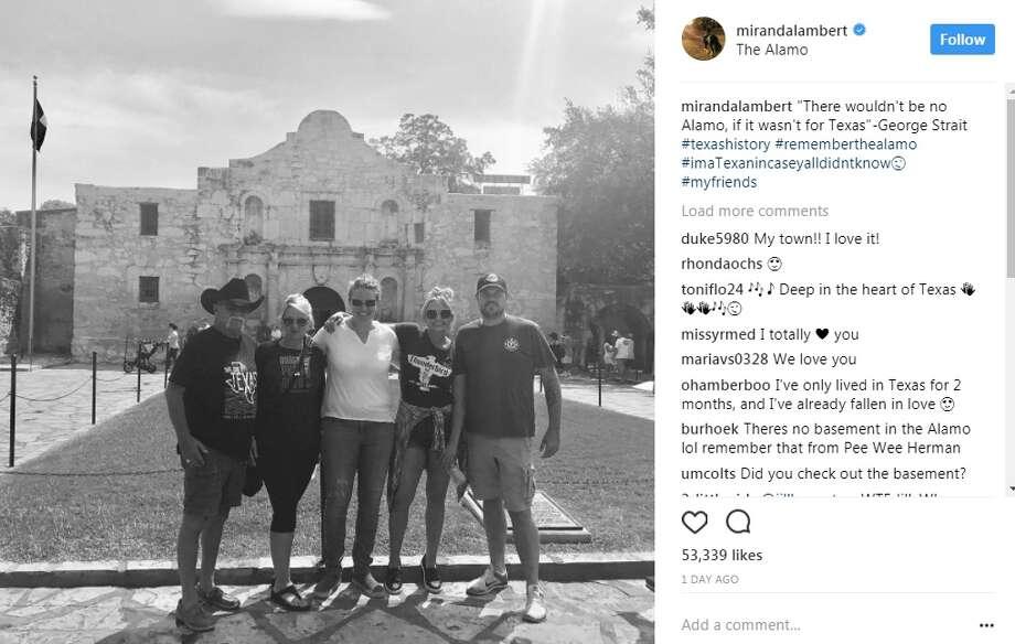 "mirandalambert: ""mirandalambert""There wouldn't be no Alamo, if it wasn't for Texas""-George Strait #texashistory #rememberthealamo #imaTexanincaseyalldidntknow Photo: Instagram.com"