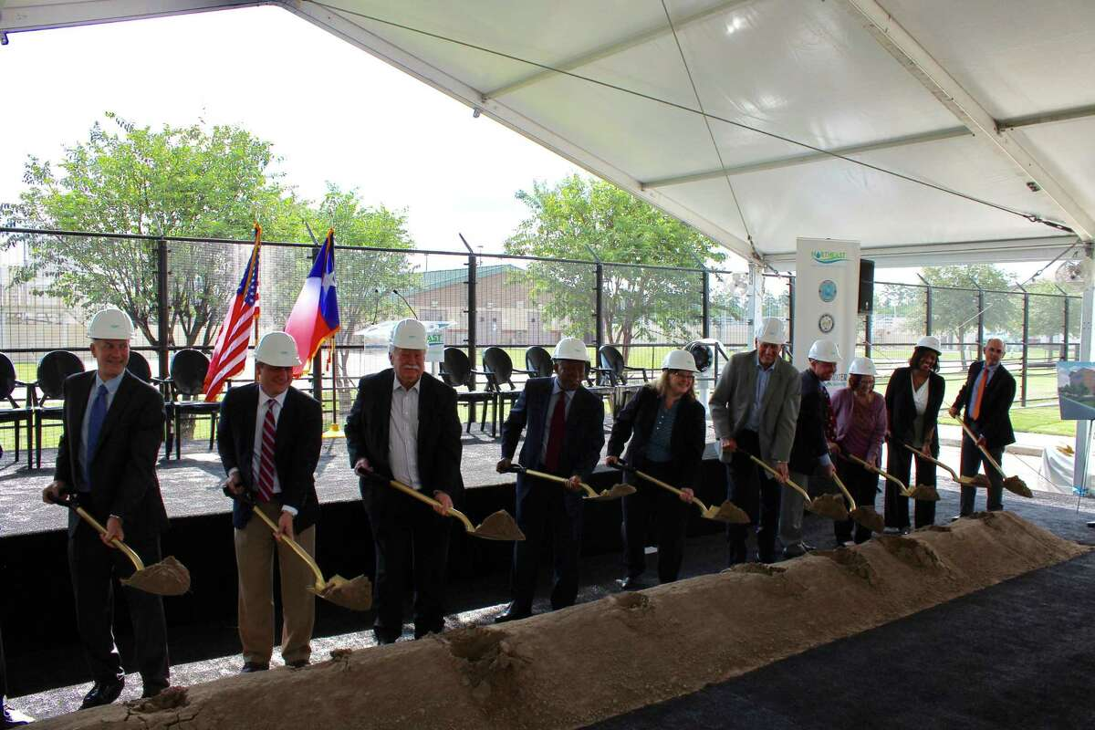 The Lake Houston Area leaders alongside Houston Mayor Sylvester Turner broke ground on the Northeast Water Purification Plant Expansion Project on Friday, Sept. 15.