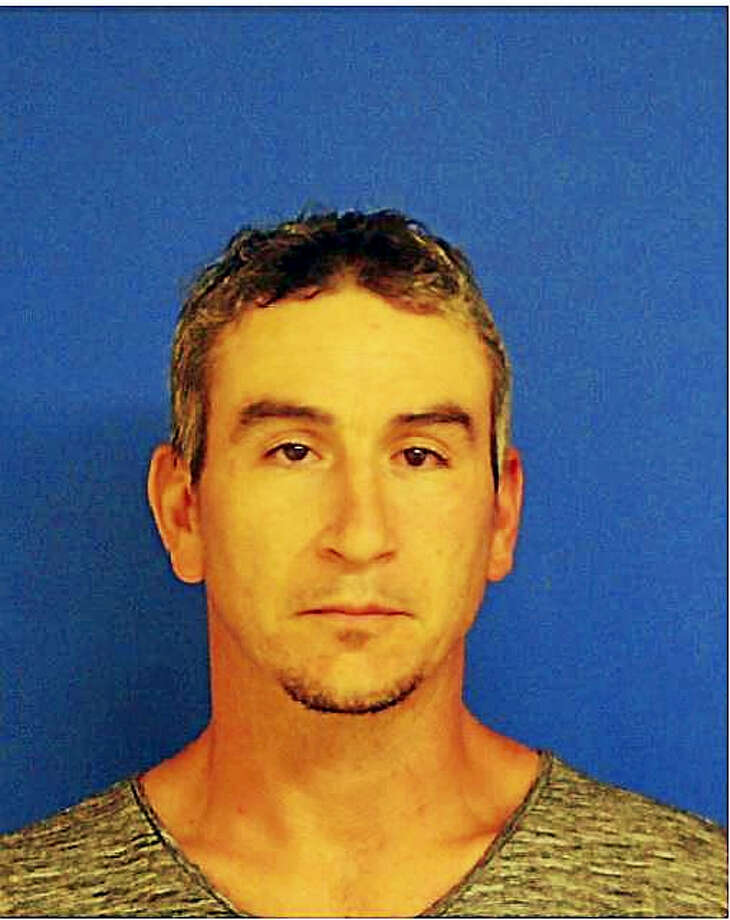 Christopher Francis, 36, is accused of robbing a gas station in July. Photo: Courtesy Of East Haven Police