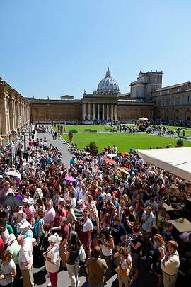 It�s a blessing that travelers can skip this mob scene by reserving tickets for the Vatican Museum in Rome.