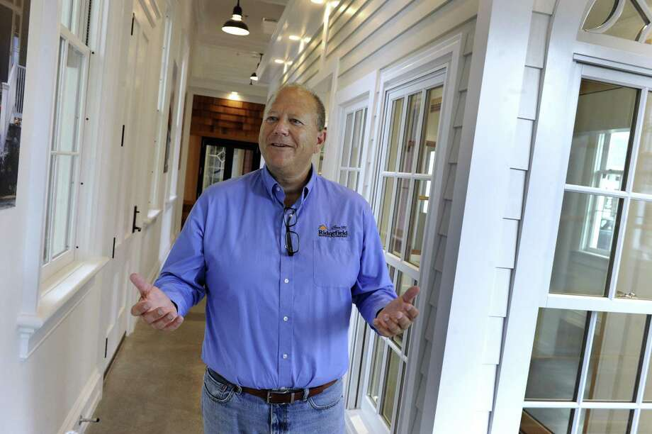 Glen Albee, president of  Ridgefield Supply Company on Prospect Street in Ridgefield, talks about his company, Thursday, Sept. 14, 2017. Photo: Carol Kaliff / Hearst Connecticut Media / The News-Times