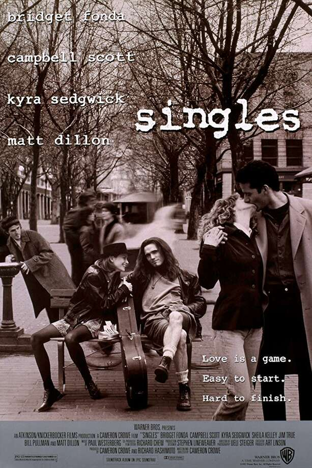 "Seattle's grunge-era movie -- Cameron Crowe's ""Singles"" -- turns 25 Sept. 18. It's roundly beloved-to-lukewarmly received, but some do not care for it. Read on to find savage takes from the internet and some of the original 1992 movie critics' reviews. Photo: Promotional Poster"