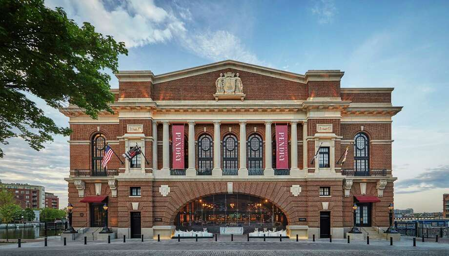 """The Sagamore Pendry Baltimore, which is in a building built in 1914, opened this spring at Recreation Pier; many immigrants to the area disembarked through """"Rec Pier,"""" which doubled as their dance hall and social center. Photo: Christian Horan, Sagamore Pendry Baltimore. / Christian Horan, Sagamore Pendry Baltimore"""