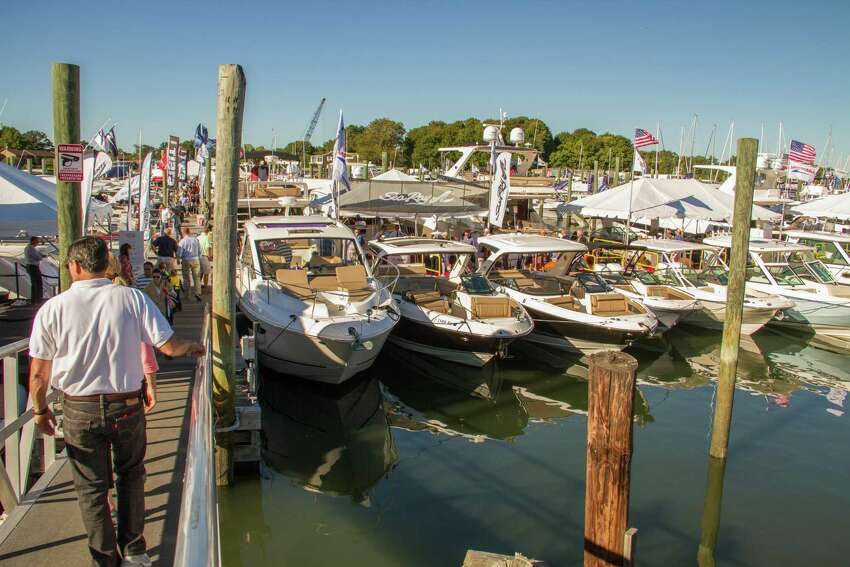 Thursday through Sunday, the Norwalk Boat Show will bring hundreds of boats - from yachts to family cruisers - and thousands of marine accessories to Norwalk Cove Marina. Find out more.