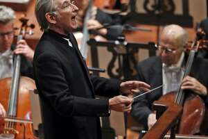 """Conductor Michael Tilson Thomas opened the season with Bernstein's """"Candide"""" overture."""