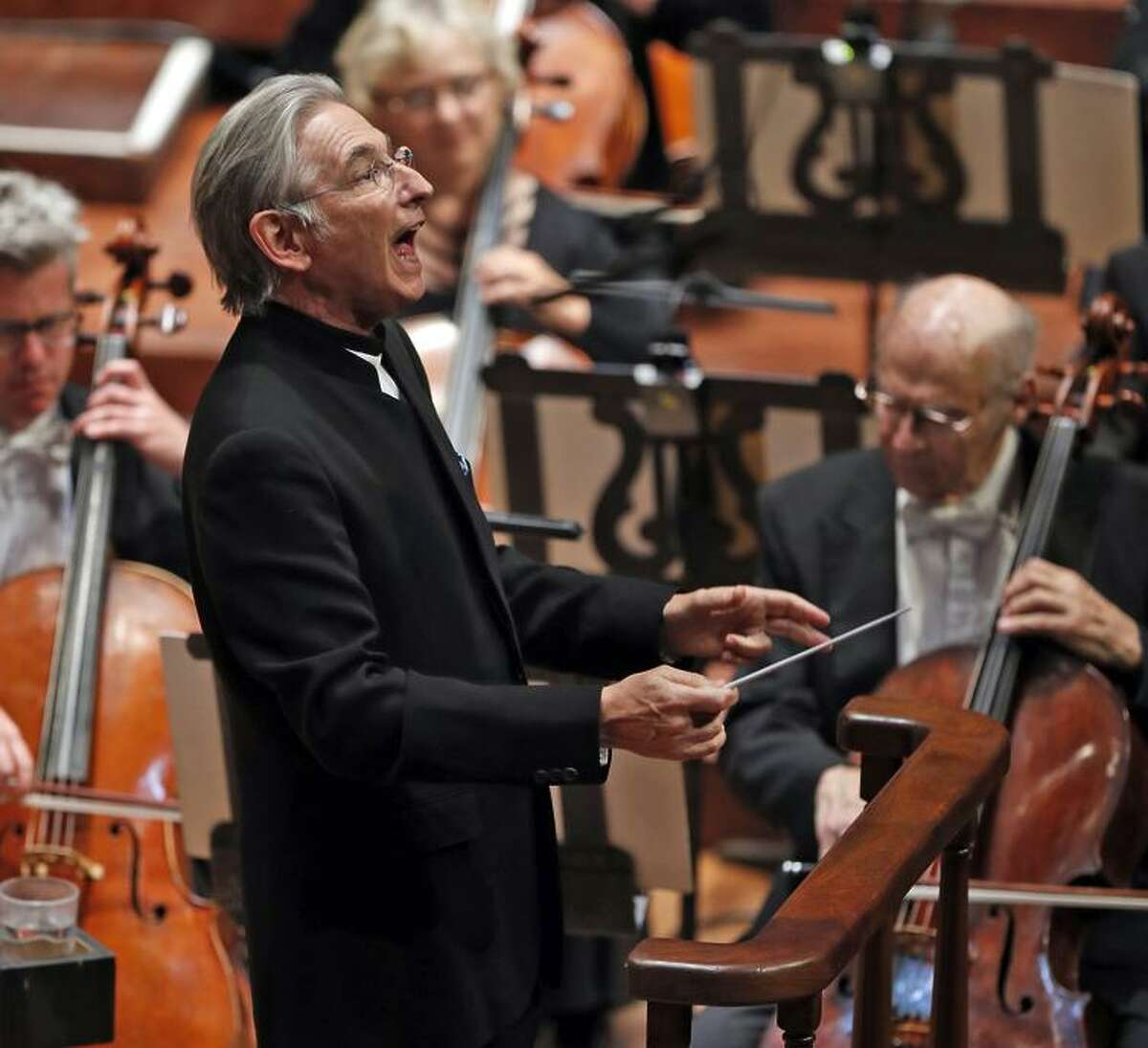 Conductor Michael Tilson Thomas opened the season with Bernstein's