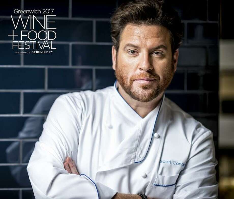 A member of the Food Network family of stars, Scott Conant will be among several celebrity chefs on hand for the Greenwich Wine & Food Festival, Friday and Saturday, Sept. 22-23, at Roger Sherman Baldwin Park. Photo: Nick Garcia / Contributed Photo / 2013