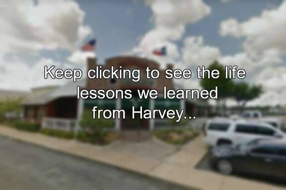 Keep clicking to see the life lessons we learned from Harvey