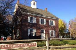 The Continental Congress met in the Colonial Courthouse in York, Pennsylvania, for nine months from 1777-1778. The building on view today is a reconstruction.