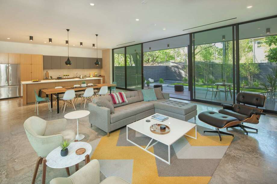 This home designed by StudioMET will be on theAIAHouston2016HomeTour. Photo: Benjamin Hill Photography