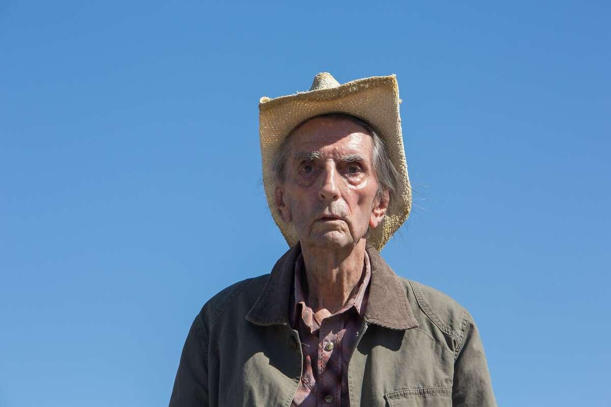 Veteran actor Harry Dean Stanton, here in 2017's