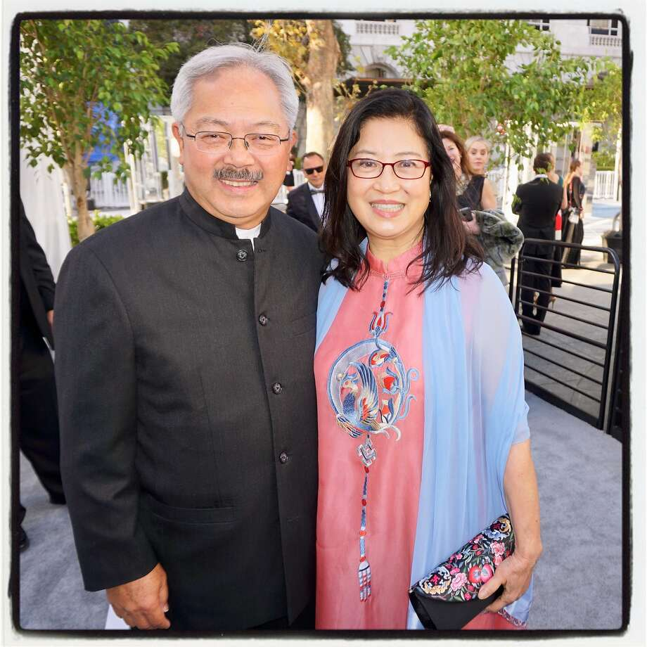 Chinese Education Center has been renamed Edwin and Anita Lee Elementary, after the late mayor and his wife. Photo: Catherine Bigelow, Special To The Chronicle