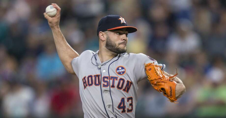 PHOTOS: Astros game-by-gameSEATTLE, WA - SEPTEMBER 6: Starter Lance McCullers Jr. of the Houston Astros delivers a pitch during the first inning of a game against the Seattle Mariners at Safeco Field on September 6, 2017 in Seattle, Washington. (Photo by Stephen Brashear/Getty Images)Browse through the photos to see how the Astros have fared through each game this season. Photo: Stephen Brashear/Getty Images