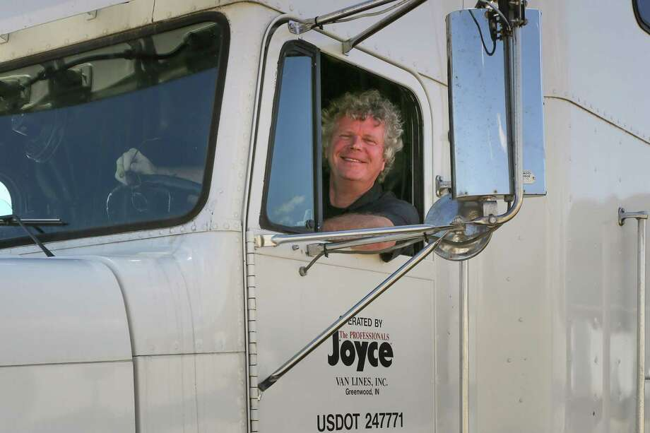Finn Murphy, a long-haul trucker for years, has written a book of his experiences. Photo: Contributed Photo