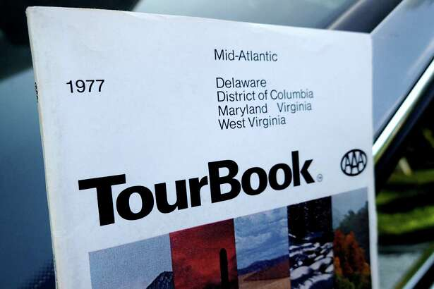 """The tome that started a trip: the """"AAA Mid-Atlantic TourBook"""" for 1977."""
