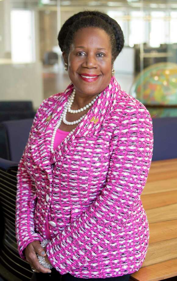Rep. Sheila Jackson Lee, D-Texas, took a knee on the House floor on Monday to condemn President Donald Trump's remarks about the NFL.See how athletes responded to Trump's comments about the NFL. Photo: Elizabeth Pudwill