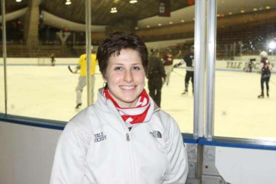 Mandi Schwartz, a member of the Yale University women's ice hockey team, was diagnosed with acute myeloid leukemia and needs a stem cell transplant within 30-60 days to survive. Photo: Contributed Photo / Greenwich Time Contributed