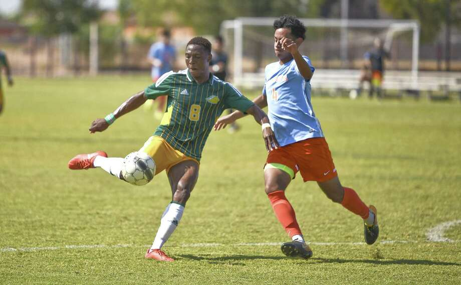 Laredo Community College's Melford Ernest and the Palominos went 4-1 in a nine-day, five-game stretch that was capped by a 2-1 win at Jacksonville on Saturday. Photo: Danny Zaragoza / Laredo Morning Times / Laredo Morning Times