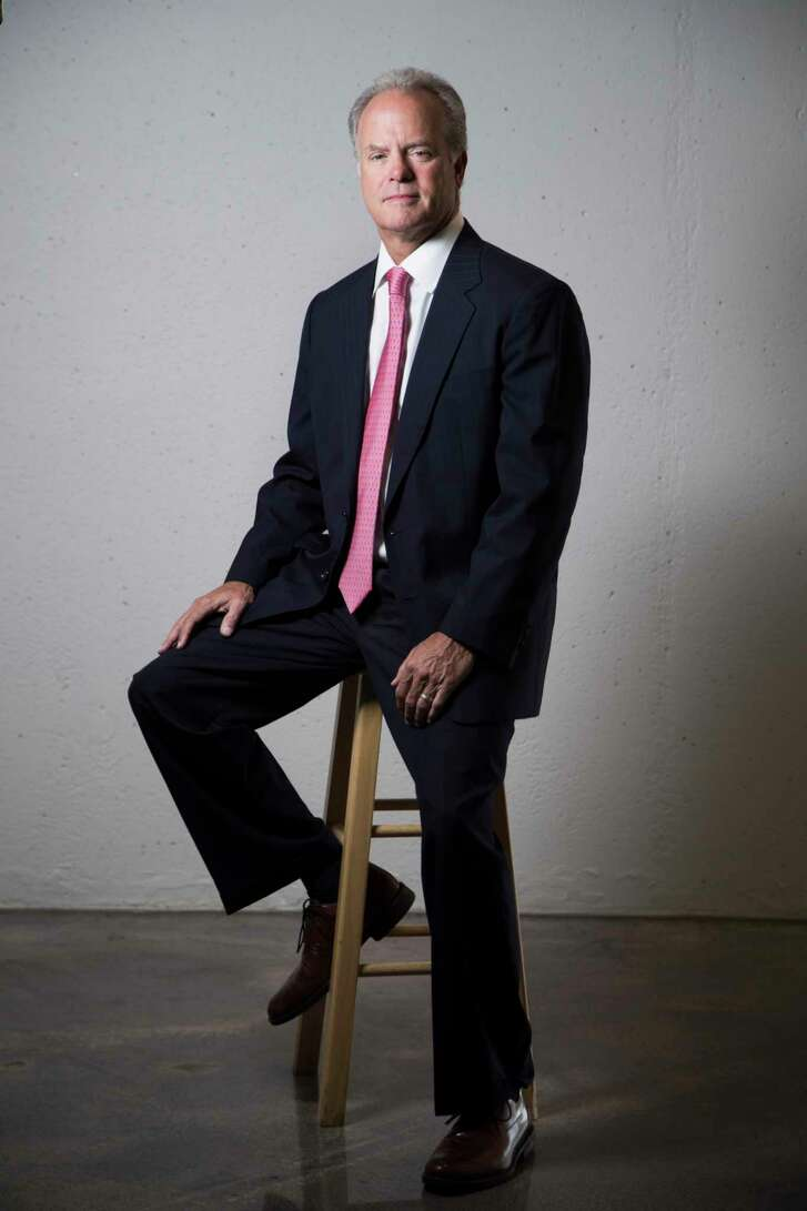 Mark Russell has joined Newmark Knight Frank to expand the commercial real estate firm's tenant representation business in Houston. Thursday, Sept. 14, 2017, in Houston. ( Marie D. De Jesus / Houston Chronicle )