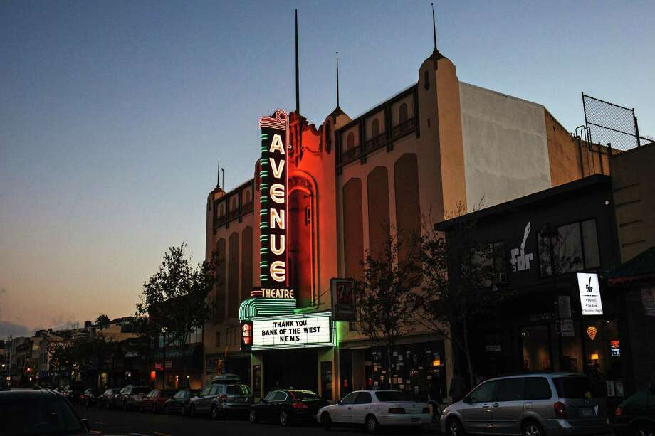 The Avenue Theater on San Bruno Avenue in the Portola neighborhood seen with it's new neon sign in San Francisco, Calif. Thursday, September 14, 2017. Photo: Mason Trinca / Special To The Chronicle / ONLINE_YES