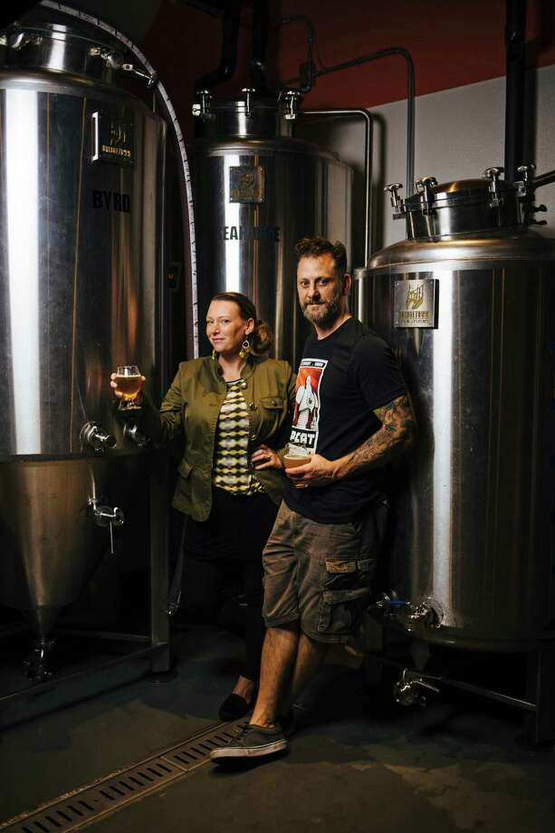 Owners Shae Inglin and Kevin Inglin, photographed at their brewery, FDR, in San Francisco, Calif. Thursday, September 14, 2017. Photo: Mason Trinca / Special To The Chronicle / ONLINE_YES