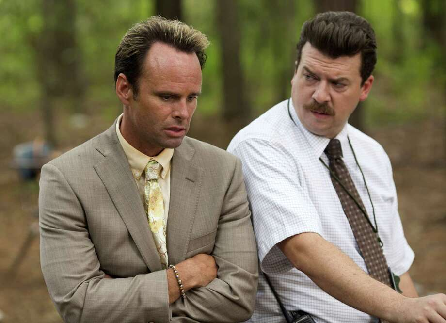 """This image released by HBO shows Danny McBride, right, and Walton Goggins in a scene from, """"Vice Principals,"""" returning for a second season on Sunday. (Fred Norris/HBO via AP) ORG XMIT: NYET348 Photo: Fred Norris / HBO"""