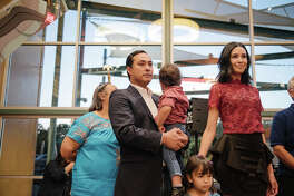 San Antonio's political power duo, Julian and Joaquin Castro, celebrated their 43rd birthday at The DoSeum Friday night, Sept. 15, 2017, amid friends, family and fans.