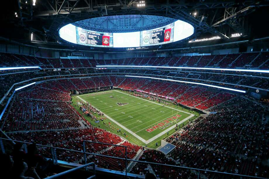 The Atlanta Falcons play the Arizona Cardinals during the second half of an NFL football game, Saturday, Aug. 26, 2017, in Atlanta. (AP Photo/John Bazemore) Photo: John Bazemore, STF / Copyright 2017 The Associated Press. All rights reserved.