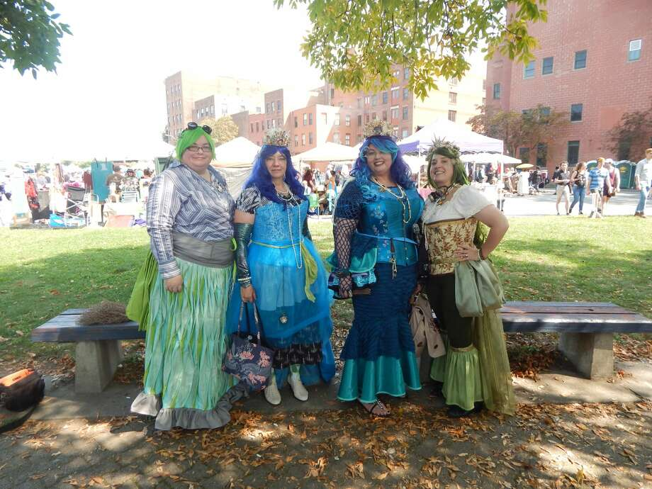 Were you Seen at the Steampunk Festival in Troy on September 16th, 2017? Photo: Julie Killian