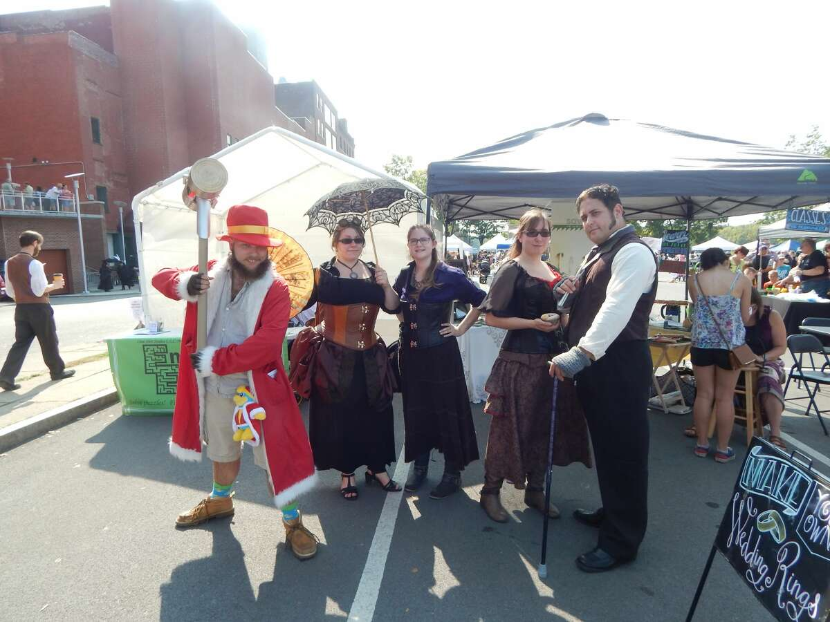 Were you Seen at the Steampunk Festival in Troy on September 16th, 2017?