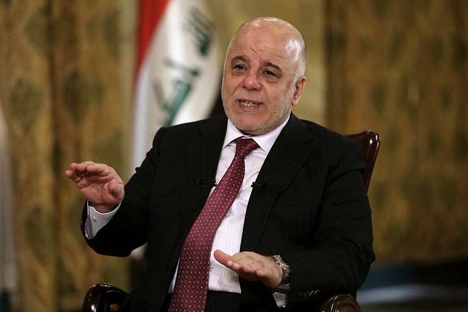 Prime Minister Haider al-Abadi says he will intervene militarily if the vote leads to violence. Photo: Karim Kadim, Associated Press