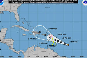 Tropical Storm Maria formed Saturday afternoon.