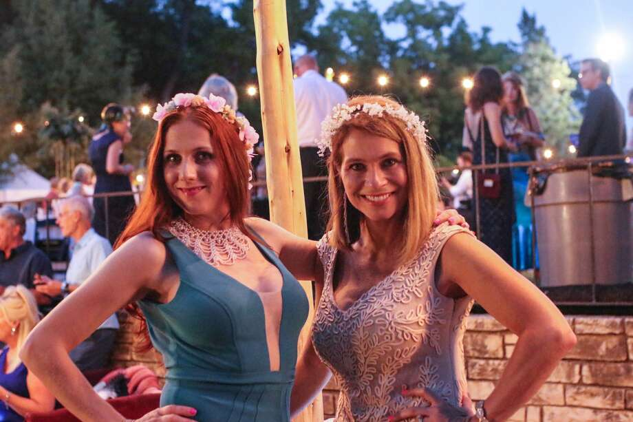 Lovers of mermaids, art and dance were on the grounds of the old Aquarena Springs Friday, Sept. 15, 2017, for the Mermaid Society Art Ball. Photo: Stacey Lovett For MySA