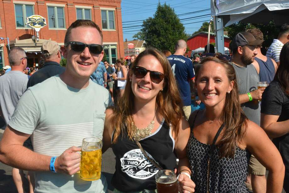 Two Roads in Stratford held its annual Ok2berfest on September 16 and 17, 2017. Festival goers enjoyed live music, a bratwurst eating contest, food trucks and craft beer. Were you SEEN? Photo: Vic Eng / Hearst Connecticut Media Group