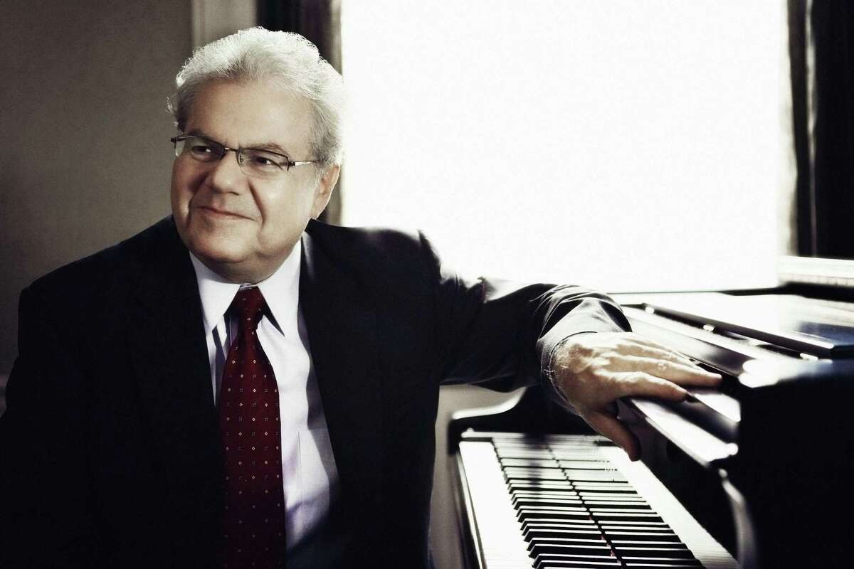 """Pianist Emanuel Ax performed Beethoven's Concerto No. 5, """"Emperor,"""" with the San Antonio Symphony on Saturday night at the Tobin Center for the Performing Arts."""