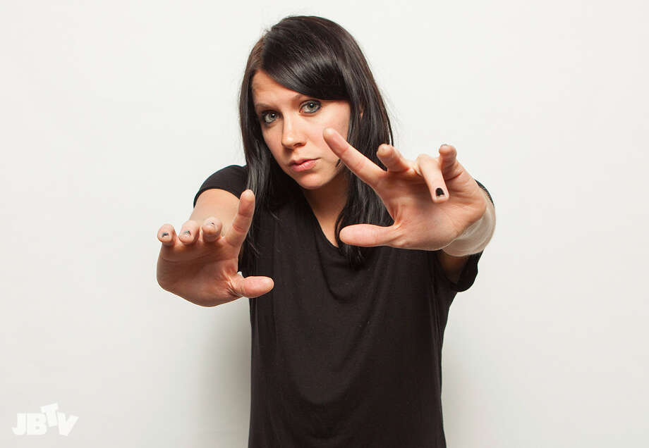 K.Flay, seen in this promotional photo, played in downtown Albany at PearlPalooza Saturday. Photo: Barry Brecheisen | www.barrybrecheisen.com Photo: Barry Brecheisen / Invision