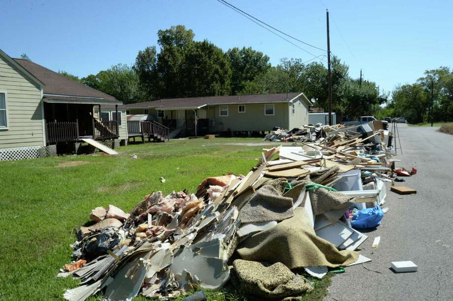 The city of Brookside Village is getting help from Brazoria County to remove debris from Hurricane Harvey.