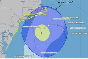A tropical storm watch is in effect for parts of Fairfield County — most notably Norwalk, Stamford and Bridgeport.The National Weather Service reports that storm wind conditions are possible somewhere within this area and within the next 48 hours. The weather advisory is related to Hurricane Jose, which is predicted to hit the East Coast.Image courtesy of the National Weather Service.