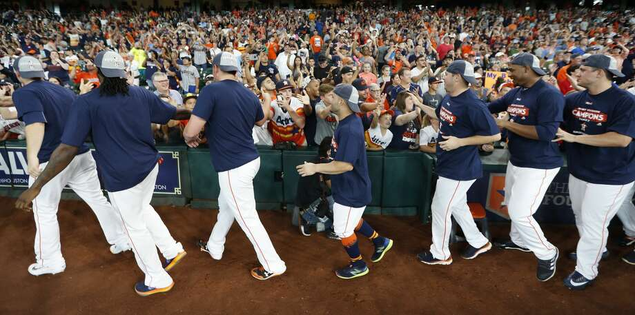 PHOTOS: Best guess at the 2017 Astros American League Division Series rosterIn their final 13 games of the regular season, the Astros will get to evaluate possibilities for the team's 25-man American League Division Series roster.Browse through the photos above for a look at the best guess for the Astros' 25-man ALDS roster. Photo: Karen Warren/Houston Chronicle