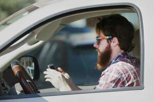 Texting while driving is now against the law in Texas. (Associated Press)