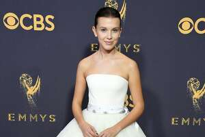 LOS ANGELES, CA - SEPTEMBER 17:  Actor Millie Bobby Brown attends the 69th Annual Primetime Emmy Awards at Microsoft Theater on September 17, 2017 in Los Angeles, California.  (Photo by Steve Granitz/WireImage)