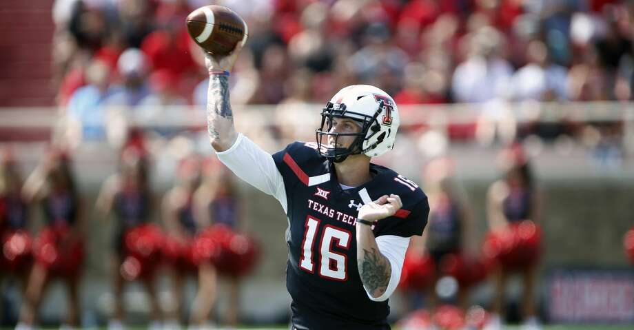 PHOTOS: Bayou BucketTexas Tech quarterback Nic Shimonek is a player to watch in UH's game on Saturday.Browse through the photos to see action from UH's win over Rice in the Bayou Bucket. Photo: Brad Tollefson/Associated Press