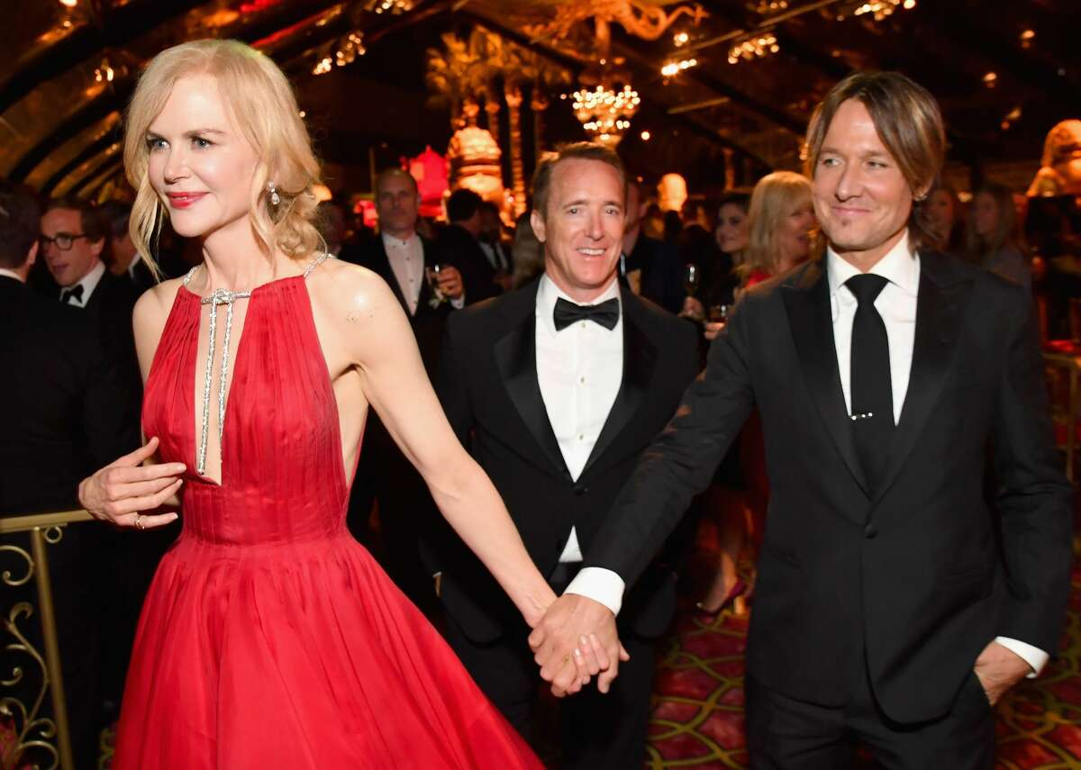 Nicole Kidman and Keith Urban attend the HBO's Official 2017 Emmy After Party at The Plaza at the Pacific Design Center on September 17, 2017 in Los Angeles, California. (