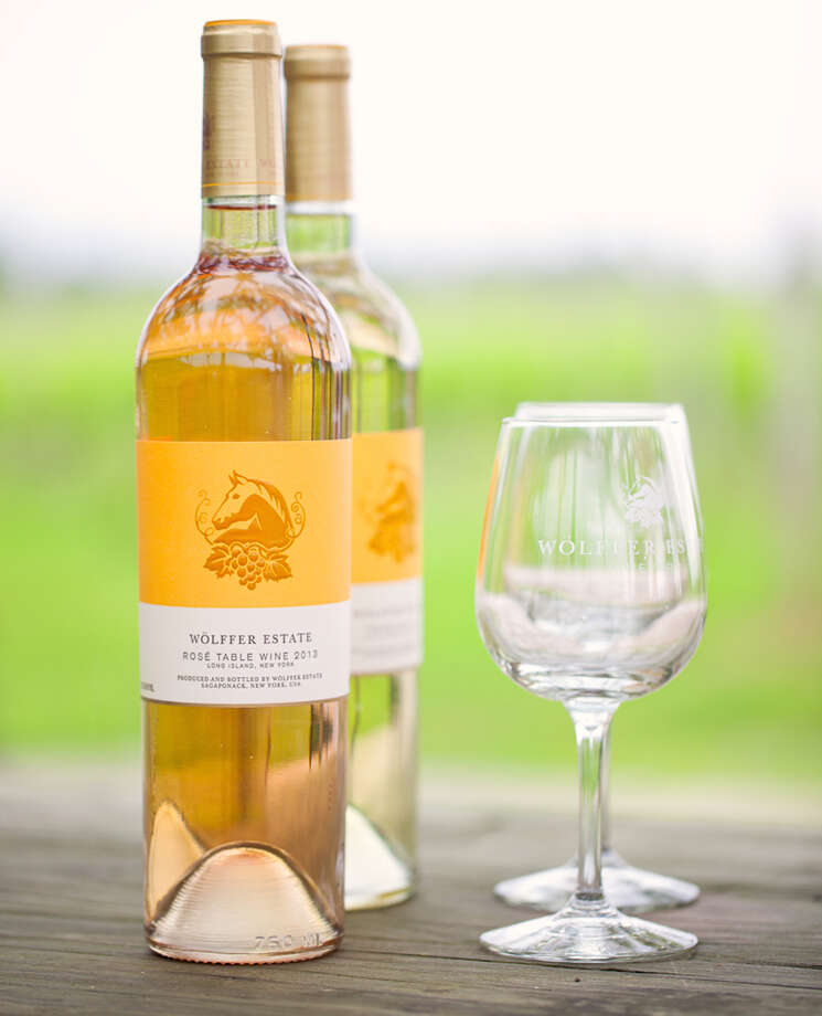 Wolffer Estate rosé. (Provided photo.)