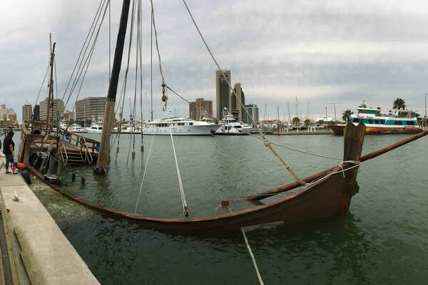 The Columbus Sailing Association launched a  GoFundMe campaign  to repair the bottom of its Nina replica sitting in a Corpus Christi bay.