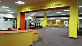 The San Antonio Public Library's Latino Collection & Resource Center, featuring 10,000 volumes, has been expanded and relocated to the first floor of the Central Library downtown.