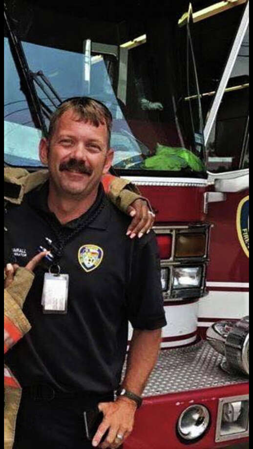 Brian Sumrall, a veteran with Houston Fire Department and a senior captain for Batson Volunteer Fire Department, was killed Sunday night in a tragic accident near his home in Batson. He was 39. Photo: Courtesy Of Harris County Fire Fighters Association
