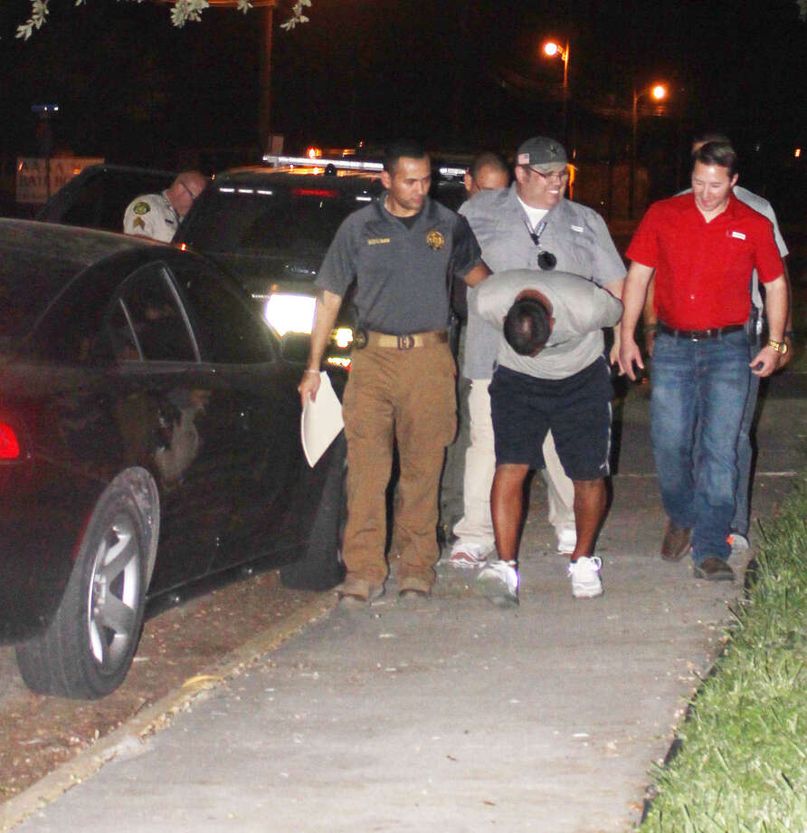 Daniel Valdez was taken into custody Friday night by the Jim Wells County Sheriff's Office. Photo: Courtesy Of Melissa Cantu Trevino/Alice Echo-News Journal