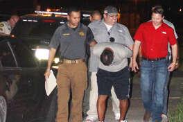 Daniel Valdez was taken into custody Friday night by the Jim Wells County Sheriff's Office.