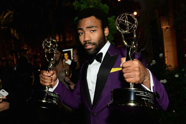 LOS ANGELES, CA - SEPTEMBER 17:  Donald Glover attends FOX Broadcasting Company, Twentieth Century Fox Television, FX And National Geographic 69th Primetime Emmy Awards After Party at Vibiana on September 17, 2017 in Los Angeles, California.  (Photo by Emma McIntyre/Getty Images)
